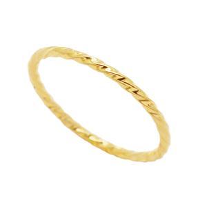 انگشتر طلا 18 عیار زنانه گالری مرجان مدل 1093