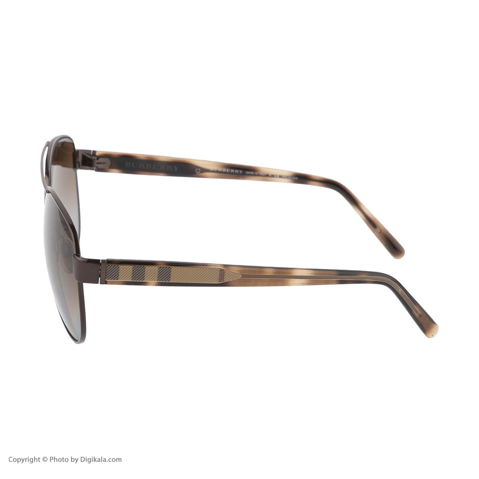 عینک آفتابی زنانه بربری مدل BE 3084S 1226T5 60   -  - 4