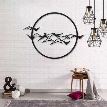 استیکر دیواری طرح پرنده کد 030