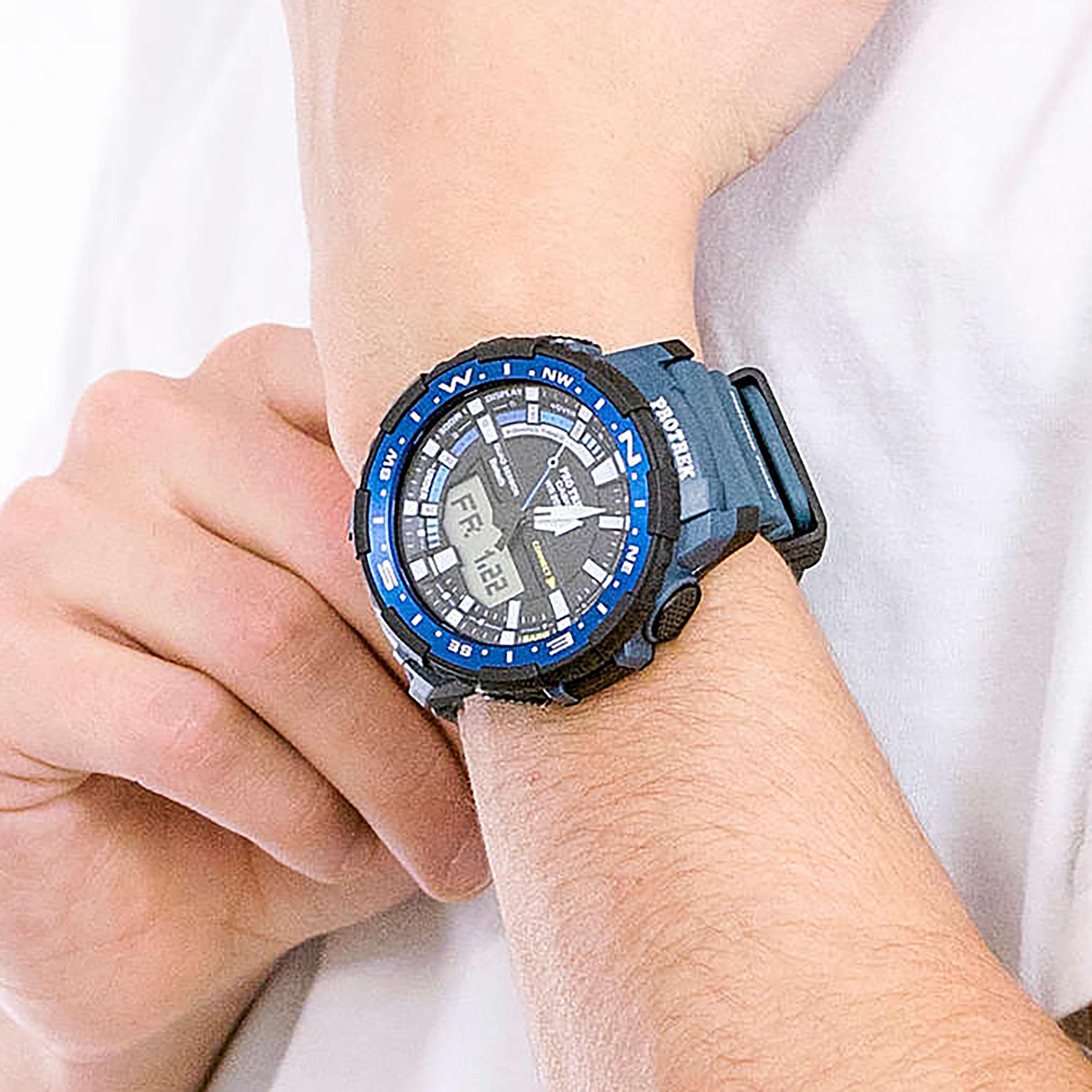 ساعت مچی عقربهای مردانه کاسیو مدل PRT-B70-2DR