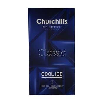 کاندوم چرچیلز مدل Classic Cool Ice بسته 12 عددی