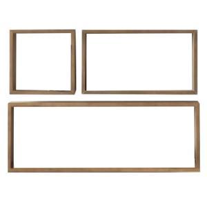 شلف دیواری مدل 140 مجموعه 3 عددی