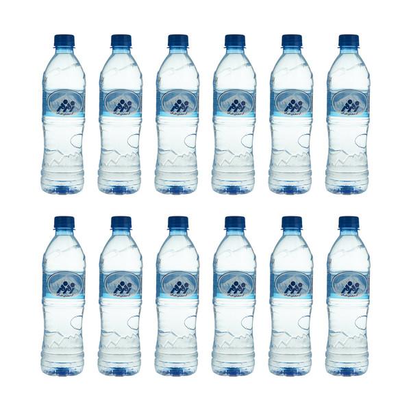 آب معدنی زمزم - 500 میلی لیتر بسته 12 عددی