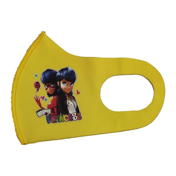ماسک تزیینی بچگانه طرح PRINCESS کد 30696 رنگ زرد