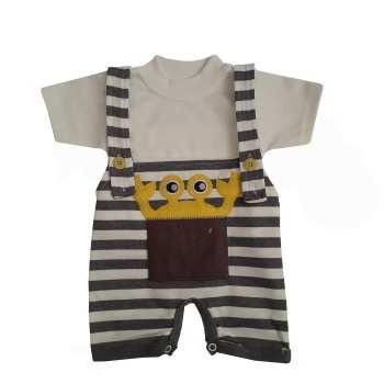 ست تی شرت و سرهمی نوزادی پسرانه کد msa-9