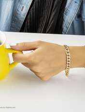 دستبند زنانه آیینه رنگی کد KR010 -  - 2