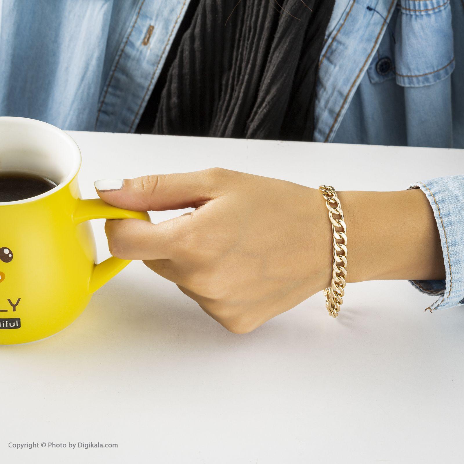 دستبند زنانه آیینه رنگی کد KR010 -  - 3