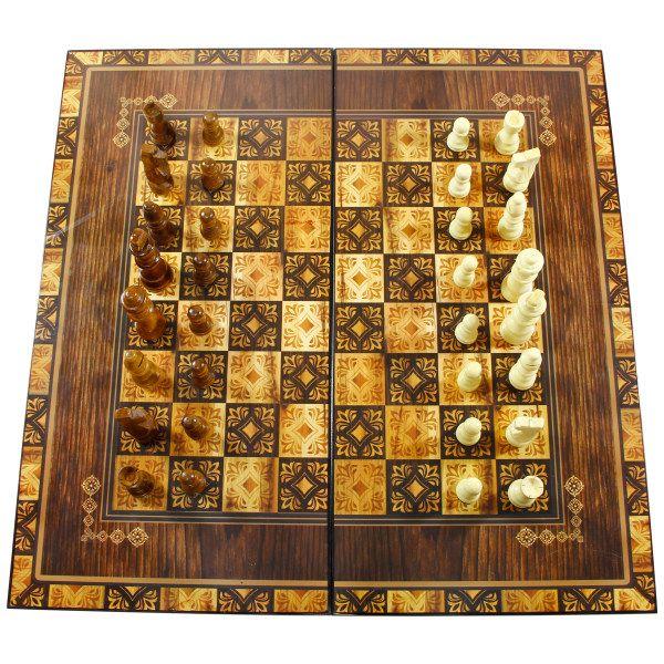 صفحه شطرنج طرح گل کد 500