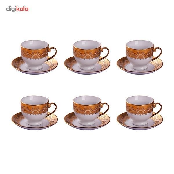 سرویس چای خوری 24 پارچه دی ویتو مدل YX0279B