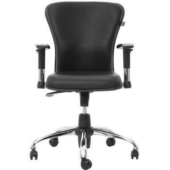 صندلی اداری چرمی راد سیستم مدل E337R