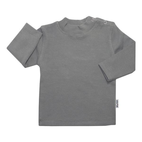 تی شرت آستین بلند آدمک کد 148401 رنگ طوسی