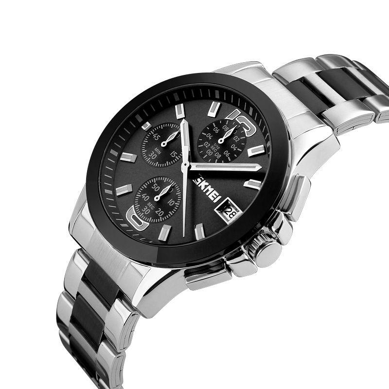 ساعت مچی عقربه ای مردانه اسکمی مدل 9126M-NP -  - 4