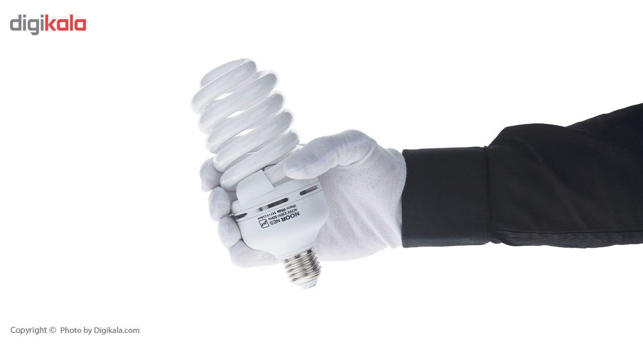 لامپ کم مصرف 40 وات نور مدل NES-FS-40W پایه E27 main 1 7