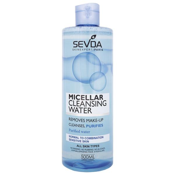 محلول پاک کننده صورت سودا مدل Micellar Water حجم 500 میلی لیتر