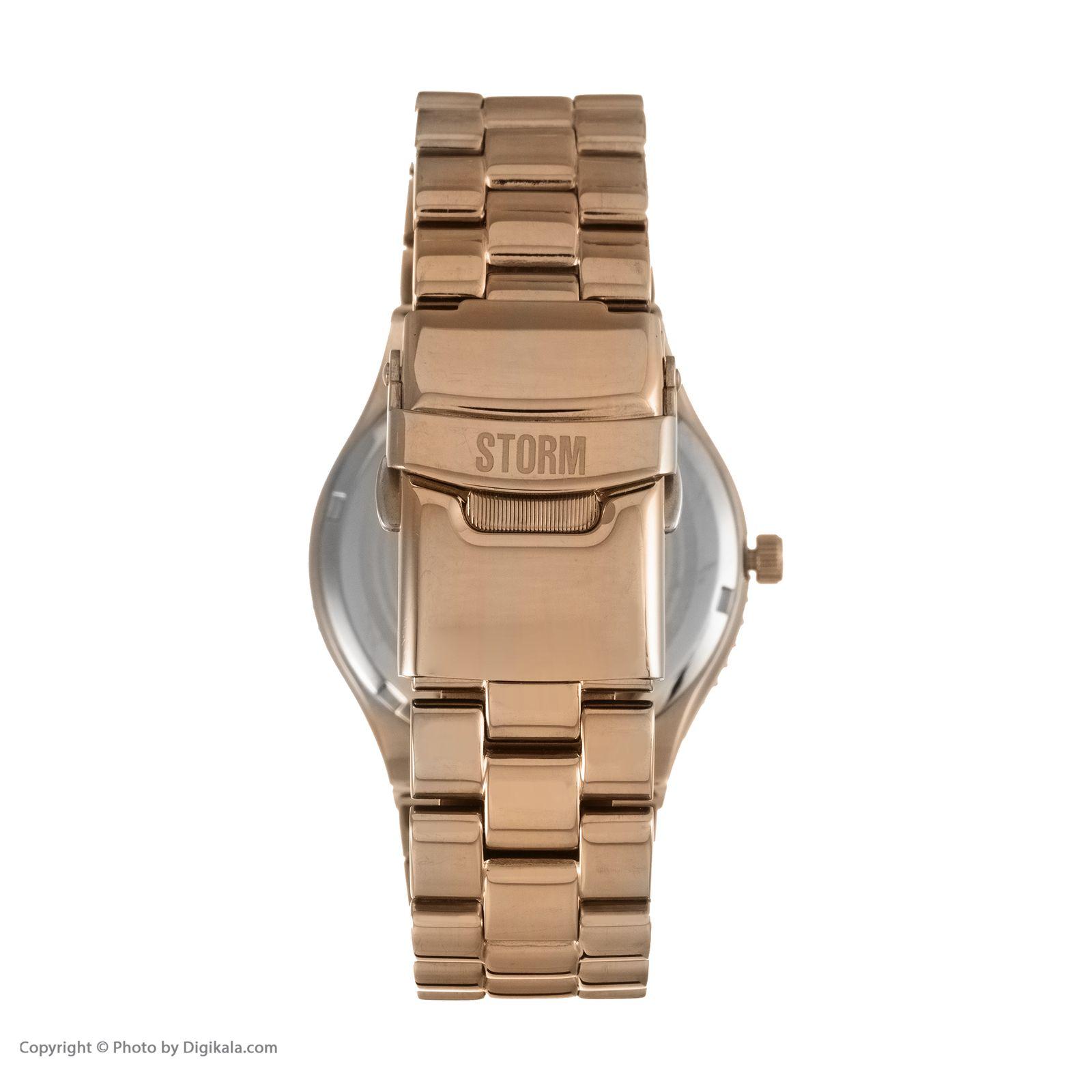 ساعت مچی عقربه ای زنانه استورم مدل ST 47148-RG -  - 6