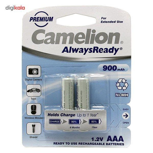 باتری نیم قلمی قابل شارژ کملیون مدل Always Ready بسته 2 عددی main 1 1