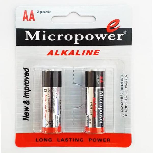 باتری قلمی میکروپاور مدل AM_3 بسته 2 عددی