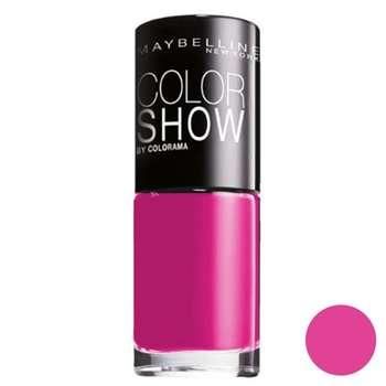 لاک ناخن میبلین مدل Vao Color Show Pink Bikinii 83