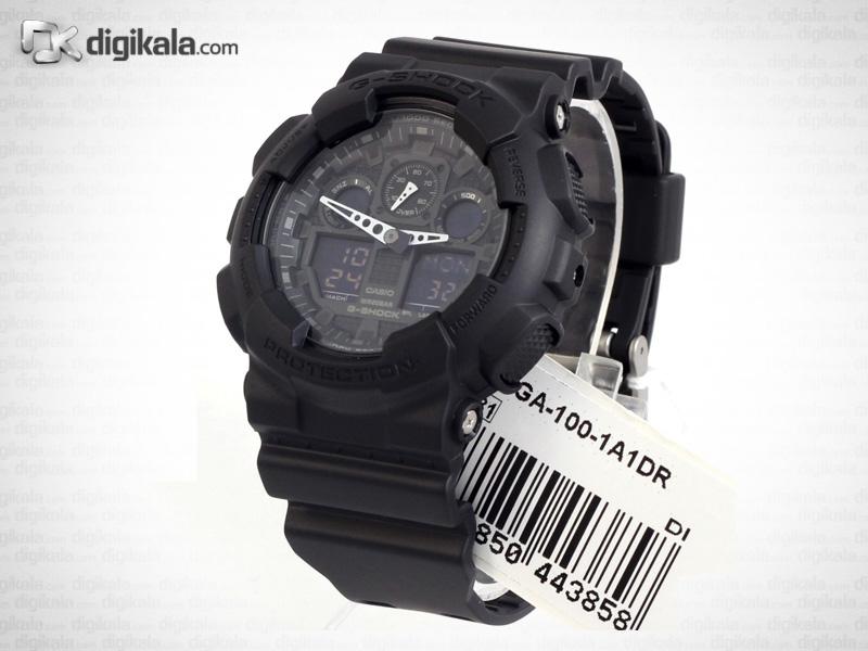 خرید ساعت مچی عقربه ای مردانه کاسیو جی-شاک GA-100-1A1DR