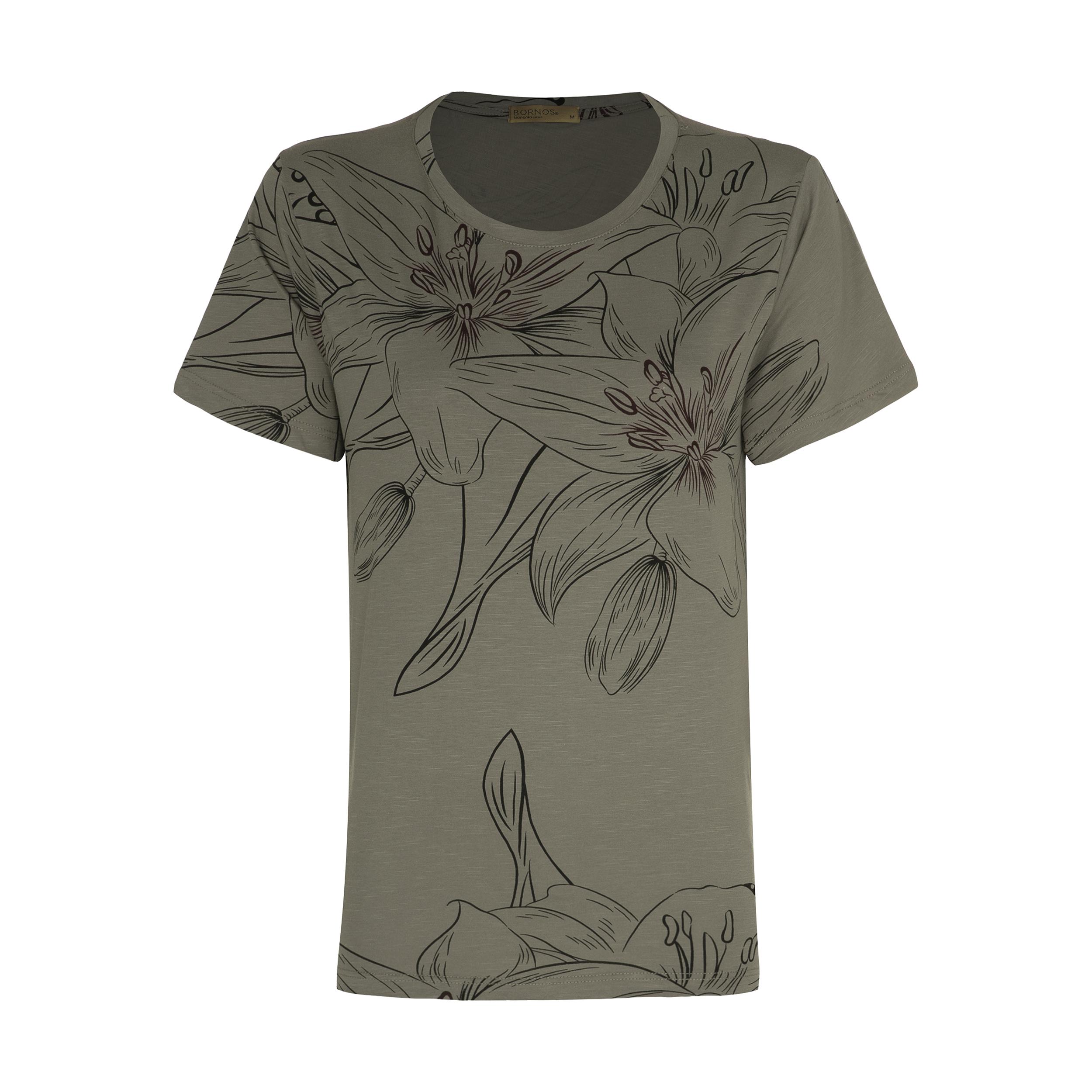 تی شرت زنانه برنس مدل NELA-06