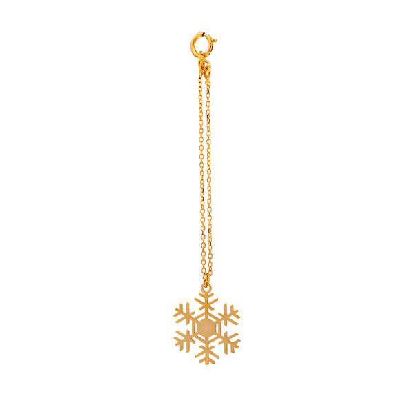 آویز ساعت طلا ۱۸ عیار زنانه دُرج مدل DZ04