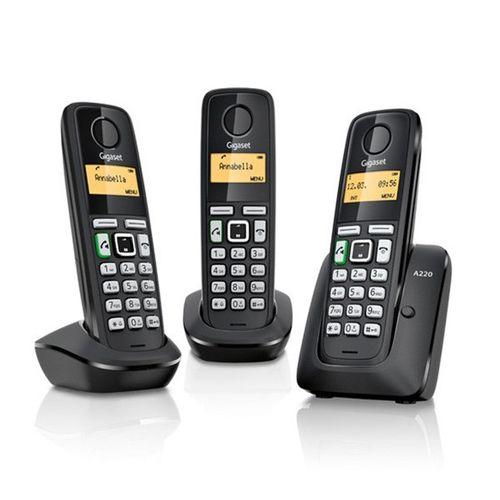 تلفن بی سیم گیگاست سه گوشی A220