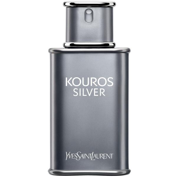ادو تویلت مردانه ایو سن لوران مدل Kouros Silver حجم 100 میلی لیتر