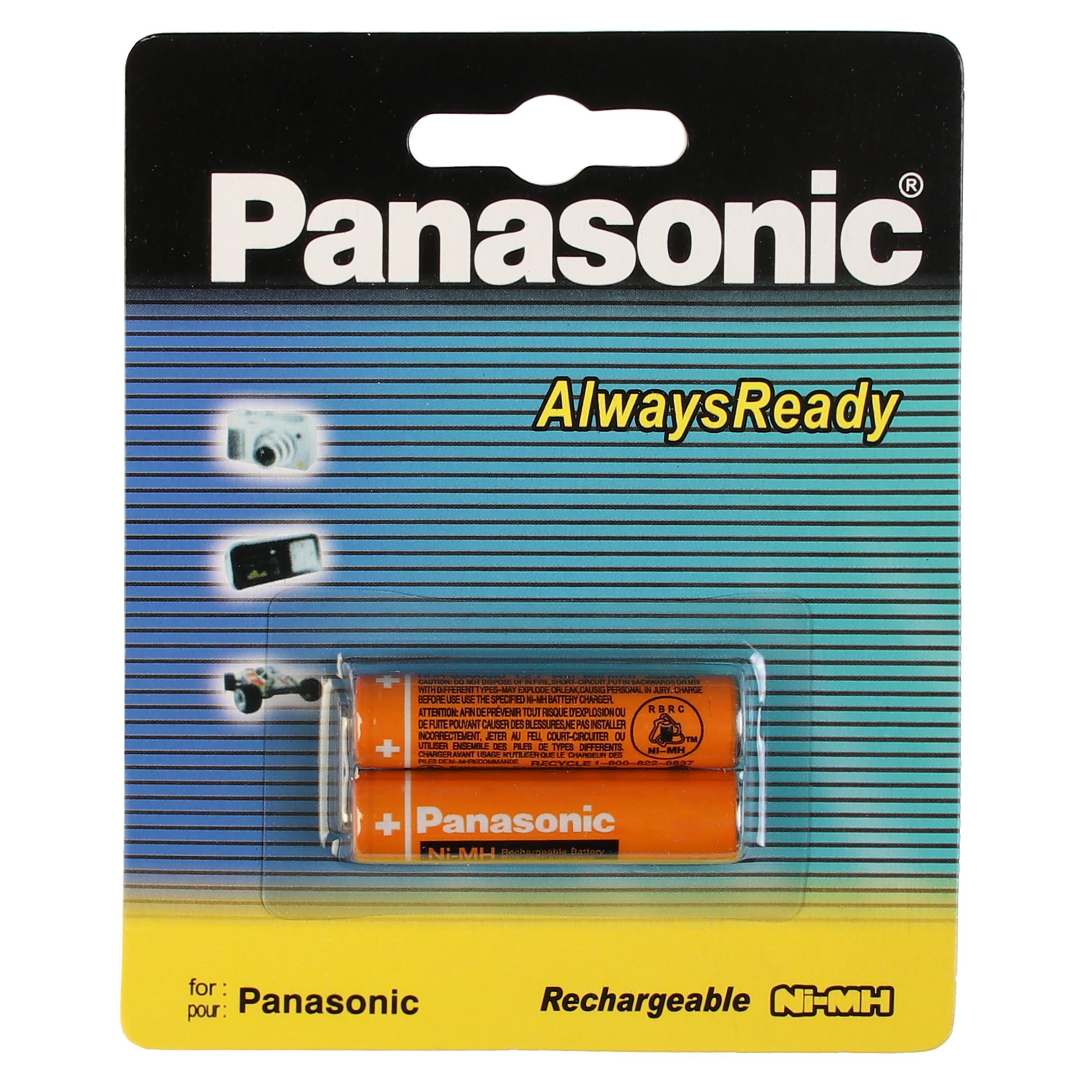 باتری نیم قلمی قابل شارژ پاناسونیک مدل 3MRT/2BM-830 بسته 2 عددی