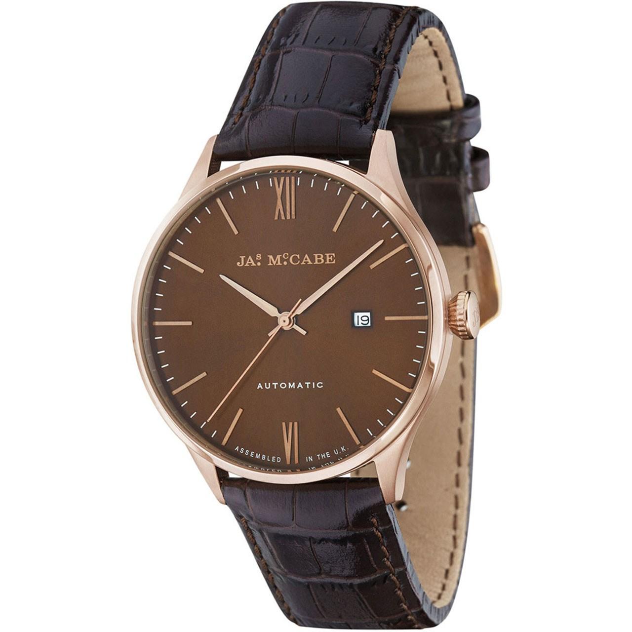 ساعت مچی عقربه ای مردانه جیمز مک کیب مدل JM-1025-03