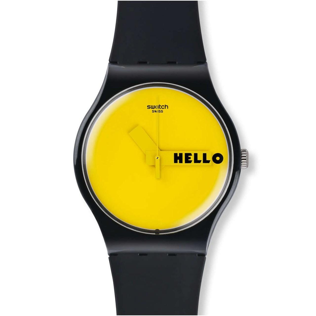 ساعت مچی عقربه ای سواچ مدل SUOB120