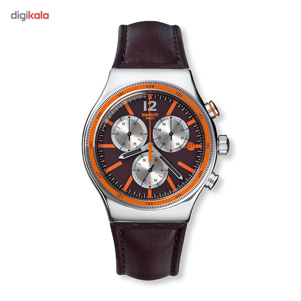 خرید ساعت مچی عقربه ای مردانه سواچ YVS413