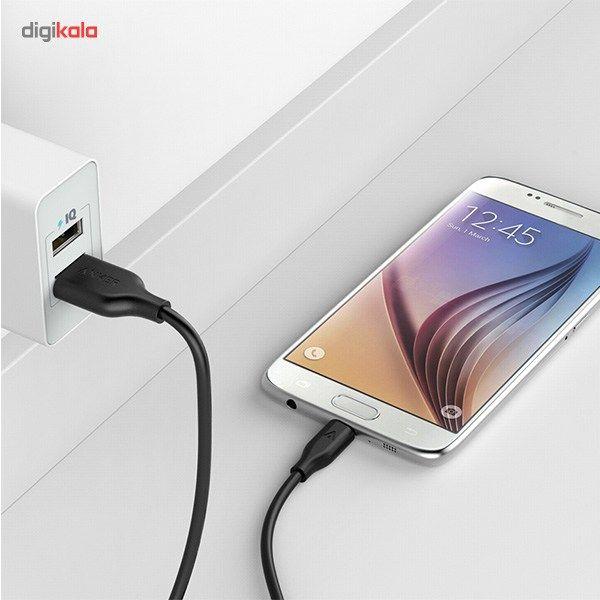 کابل تبدیل USB به microUSB انکر مدل A8132 PowerLine طول 0.9 متر main 1 11
