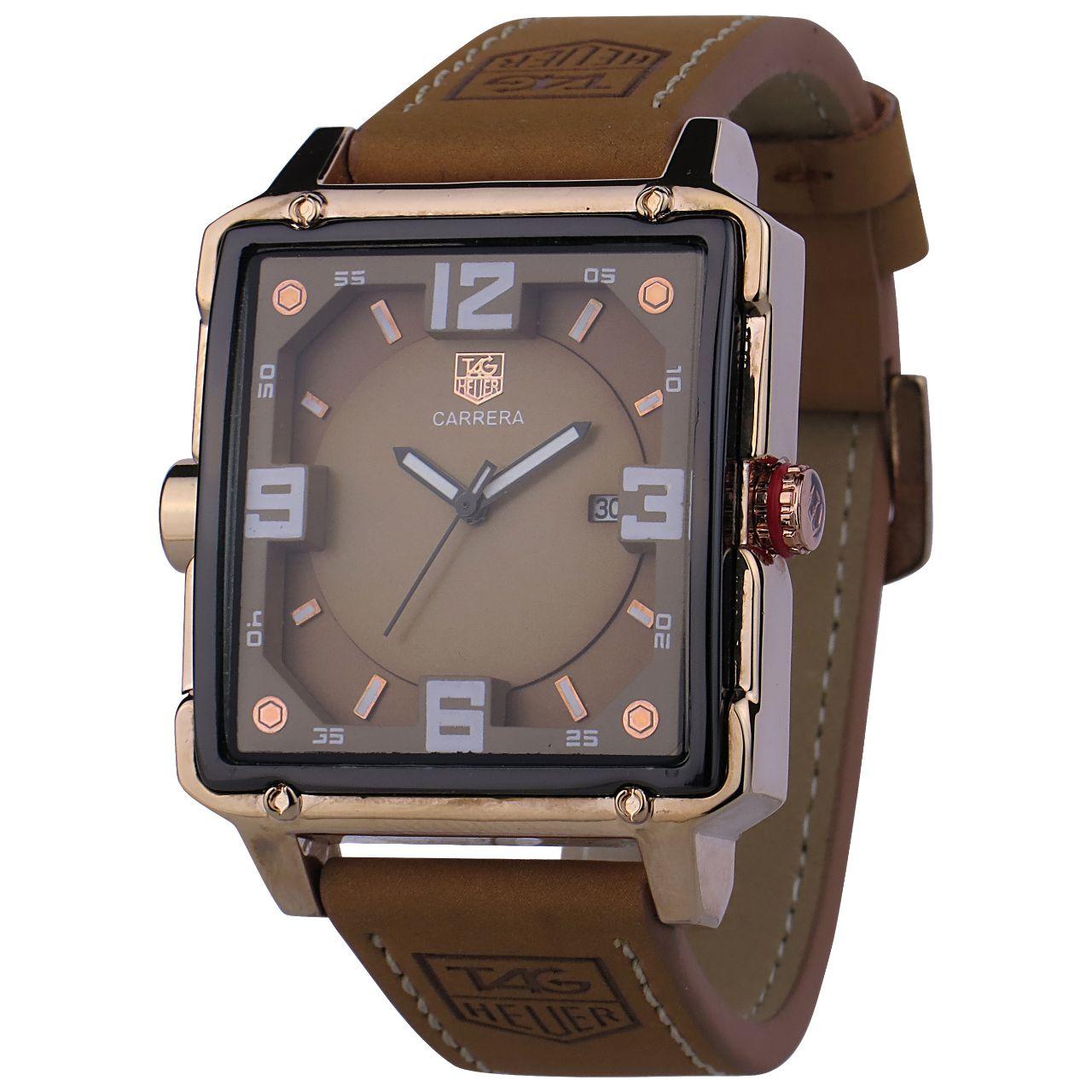 قیمت                      ساعت مچی عقربه ای مردانه مدل C.A.R-03