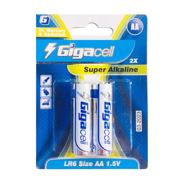 باتری قلمی گیگاسل مدل Super بسته 2عددی