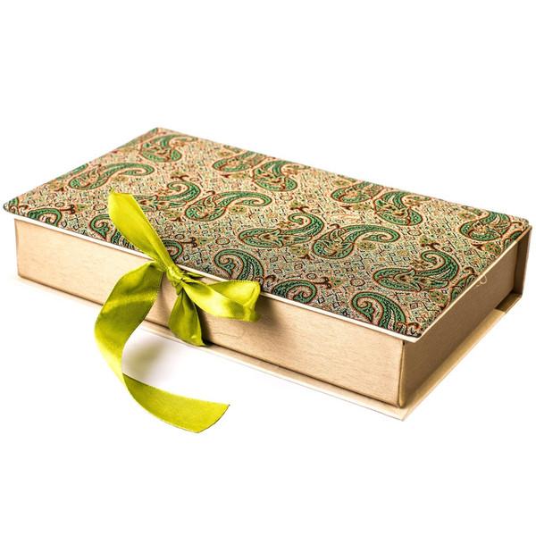 جعبه کارد و چنگال ترمه سنا مدل کتابی
