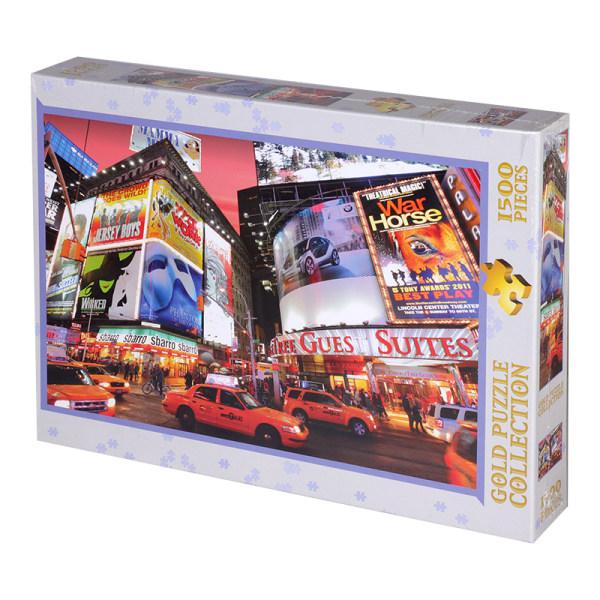 پازل 1500 تکه گلد پازل مدل میدان تایمز