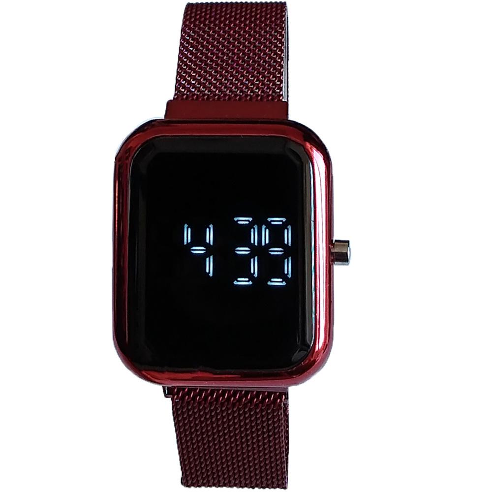 ساعت مچی دیجیتال مدل LED دکمه ای کد 120