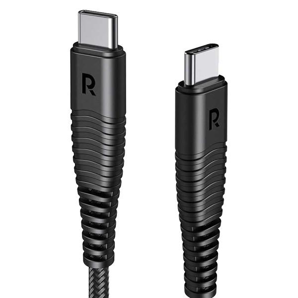 کابل تبدیل USB-C به USB-C راو پاور مدل RP-CB047 طول 1 متر