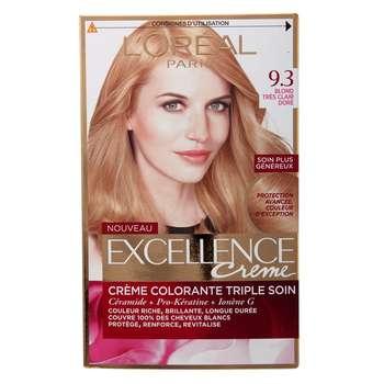 کیت رنگ مو لورآل شماره 9.3 Excellence