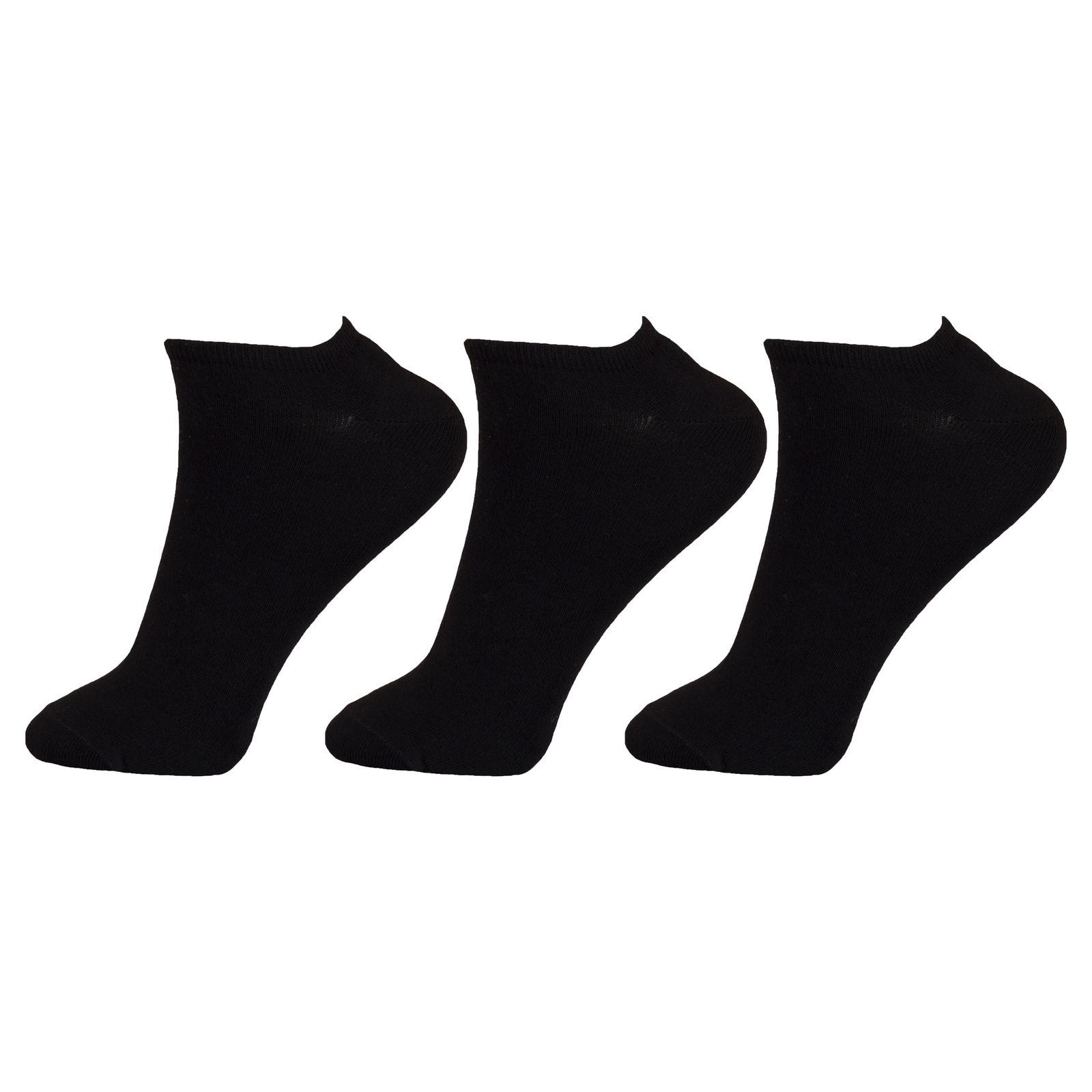 جوراب زنانه مستر جوراب کد BL-MRM 203 بسته 3 عددی -  - 2
