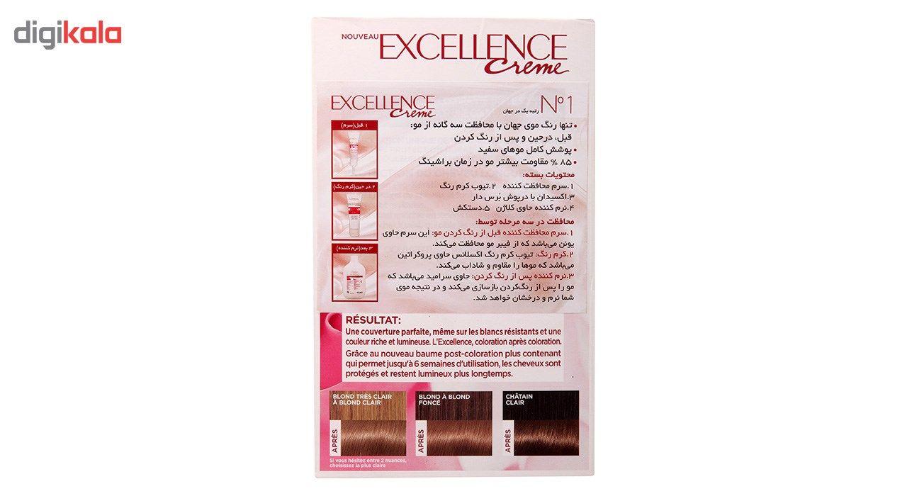 کیت رنگ مو لورآل شماره 9.3 Excellence main 1 4