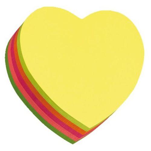 کاغذ یادداشت چسب دار هوپکس قلب کد 21356
