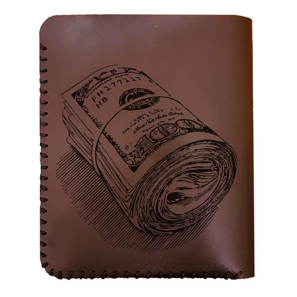 کیف پول مردانه طرح دلار کد 8019