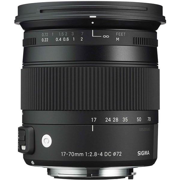 لنز سیگما 17-70mm F2.8-4 DC MACRO OS HSM