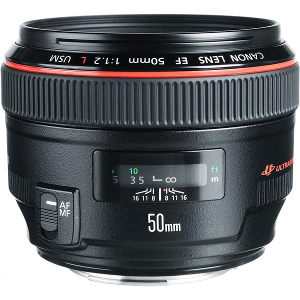 لنز دوربین کانن f1.2 USM مدل 50 میلی متر