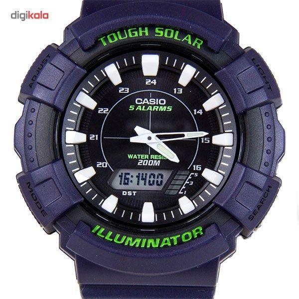 ساعت مچی عقربه ای مردانه کاسیو مدل AD-S800WH-2AVDF -  - 2