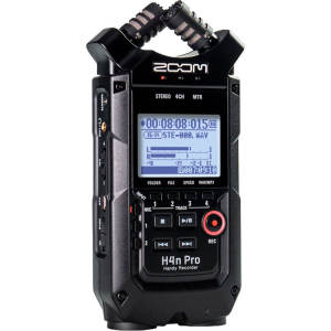 ضبط کننده حرفه ای صدا زوم مدل H4n Pro BL