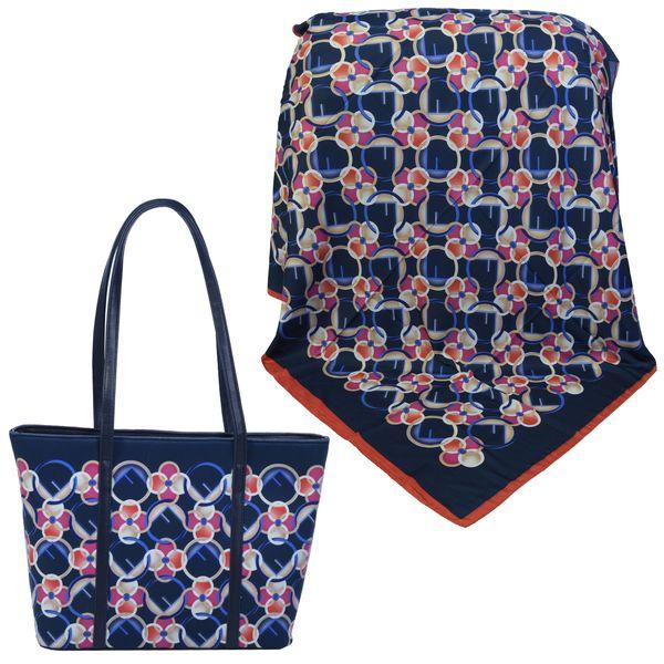 ست کیف و روسری زنانه کد 980709-T1