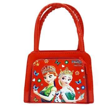 کیف دستی دخترانه طرح السا و آنا کد Tajgh900