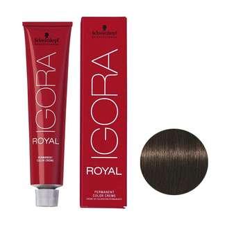 رنگ مو ايگورا رويال شماره 4.0 حجم 60 ميلی ليتر رنگ قهوه ای متوسط طبيعی